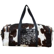 Peri Cowhide Duffle Bag