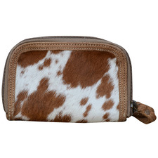 Tan Dana Cowhide Purse