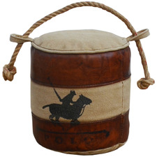 Poloo Goat Leather Door Stopper