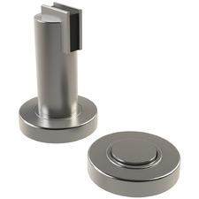 Satin Architectural Magnetic Door Stop