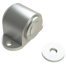 Satin Zinc Magnetic Door Stop
