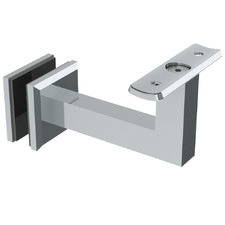 Commercial Curved Top Bracket for Glass