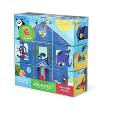 Little Architect Blue 9 Piece Block Set