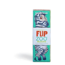 Flip Zoo African Animals Magnetic Puzzle