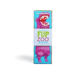 Flip Zoo World Animals Magnetic Puzzle