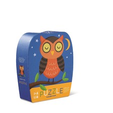 12 Piece Sleepy Owl Mini Puzzle