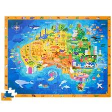 100 Piece Discover Australia Puzzle Toy Set