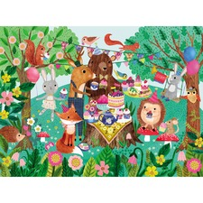 50 Piece Garden Party Canister Puzzle Set
