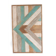 Patterned Wooden Panel Wall Art I