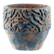 Ancient Dark Blue Pot