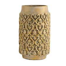 Ancient Gold Tall Pot