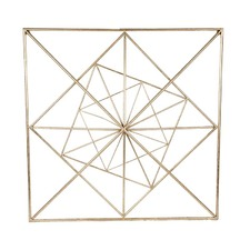 Gold Square Wall Art
