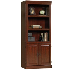 Classic Cherry Heritage Hill Library Cabinet with Doors