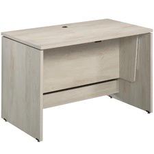 Chalked Chestnut Adjustable Sit & Stand Office Desk