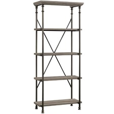 Canal Street 5 Shelf Bookcase