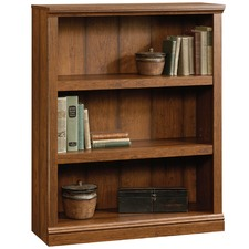 Cherry Washington Triple Shelf Bookcase