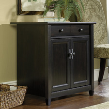Black Edge Water Office Cabinet
