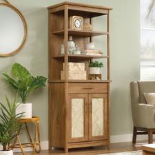 Natural Coral Cape Library Cabinet