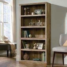 Oak Lintel 5 Shelf Bookcase
