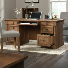Vintage Oak Palladia Executive Desk
