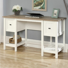 White & Natural Cottage Road Office Desk
