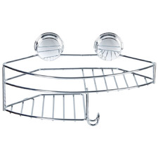 Kroma Stick N Lock Corner Shower Caddy