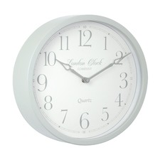 Alice Soft Grey Clock