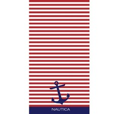 Bayside Americana Printed Cotton Beach Towel