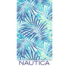 Bay Floral Printed Cotton Beach Towel