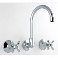 Aspect Wall Sink / Spa Set in Polished Chrome