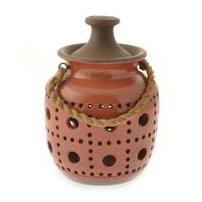 Terracotta Circalla Lantern