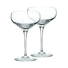 Wedgwood Sequin Champagne Saucer Pair