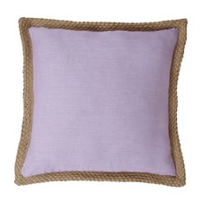 Mornington Lilac Linen Cushion