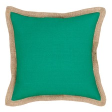 Emerald Hampton Linen Cushion
