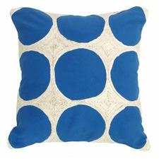 Santorini  Blue Napoleon Cushion