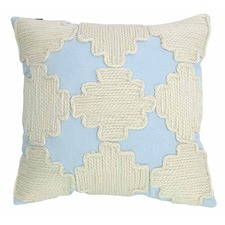 Illusion Blue Sebastian Cushion