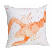 Coral Lobster Cushion