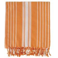 Eyas Orange Turkish Towel