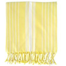 Eyas Yellow Turkish Towel