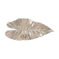 Small Nickel Leaf Centrepiece