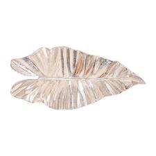 Medium Nickel Leaf Centrepiece
