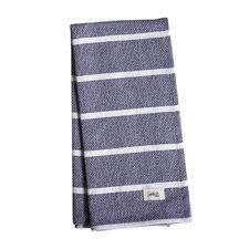 Jackson Navy Stripe Tea Towel