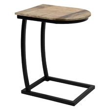 Latte Black Side Table