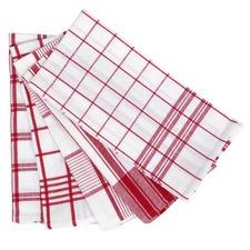 Red Tea Towel 5 Pack