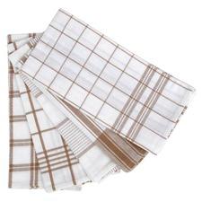 Warm Taupe Tea Towel 5 Pack