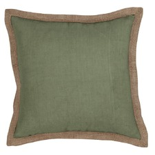 Hampton Sage Green Linen Cushion