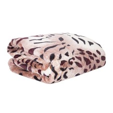 Cheetah Faux Mink Blanket