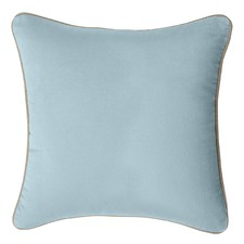 Illusion Blue Gabriel Velvet Cushion