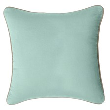 Glacier Blue Gabriel Velvet Cushion