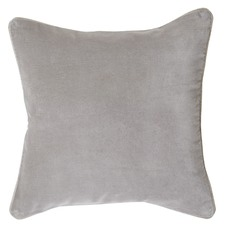 Grey Gabriel Velvet Cushion
